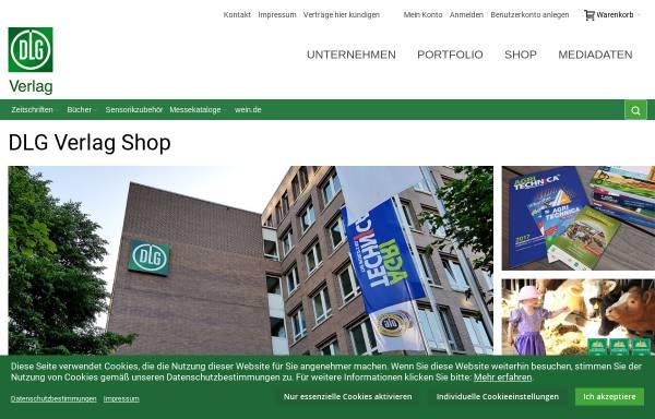 Vorschau von www.dlg-verlag.de, DLG-Verlag GmbH