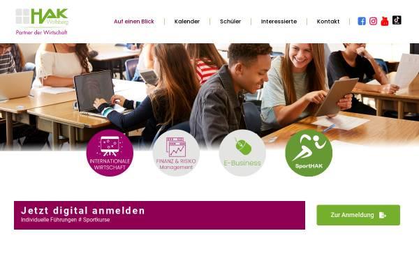 Vorschau von www.hak-wolfsberg.at, Bundeshandelsakademie und -schule Wolfsberg