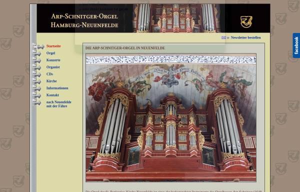 Vorschau von www.schnitgerorgel.de, Arp-Schnitger-Orgel, Hamburg-Neuenfelde