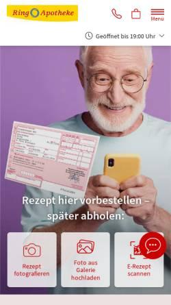 Vorschau der mobilen Webseite www.diering-apotheke.de, Arp-Schnitger-Orgel, St.Cyprian u. Cornelius Ganderkesee