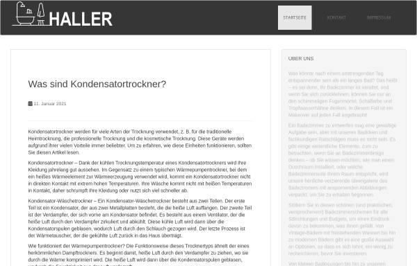 Vorschau von www.bert-haller.de, Bert Haller GmbH