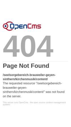Vorschau der mobilen Webseite www.orgelkonzerte-brauweiler.de, Kirchenmusik in Brauweiler
