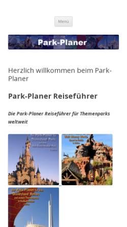 Vorschau der mobilen Webseite park-planer.de, Der Park-Planer