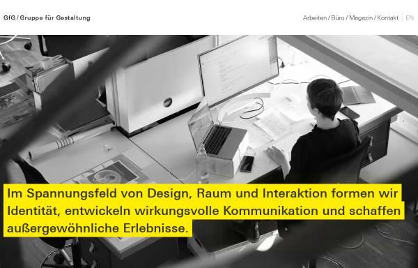 Vorschau von www.gfg-id.de, GfG Gruppe für Gestaltung GmbH