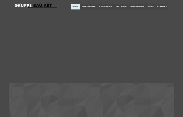Vorschau von www.gruppebauart.de, Gruppe Bau Art