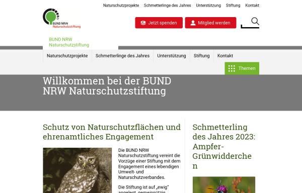Vorschau von bund-nrw-naturschutzstiftung.de, BUND NRW Naturschutzstiftung
