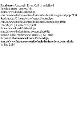 Vorschau der mobilen Webseite www.lebendige-ems.de, Lebendige Ems