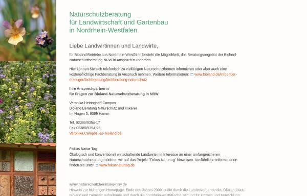 Vorschau von www.naturschutzberatung-nrw.de, Naturschutzberatung Nordrhein-Westfalen