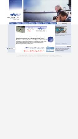 Vorschau der mobilen Webseite www.wasserlauf-nrw.de, Stiftung Wasserlauf