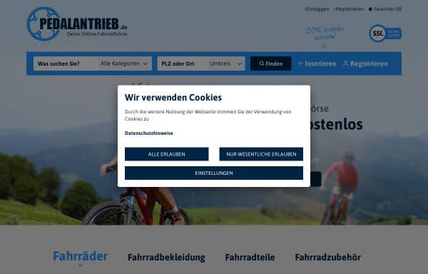 Vorschau von www.pedalantrieb.de, Pedalantrieb