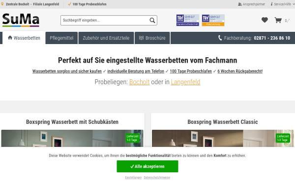 SuMa Wasserbetten GmbH: Wasserbetten, Schlafzimmer suma-wasserbetten.de