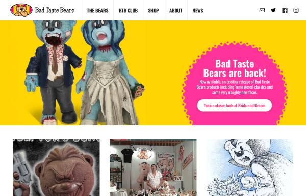 Vorschau von www.badtastebears.com, Bad Taste Bears