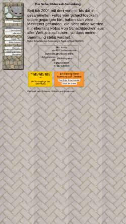 Vorschau der mobilen Webseite www.schachtdeckel.de, Schachtdeckel-Foto-Sammlung