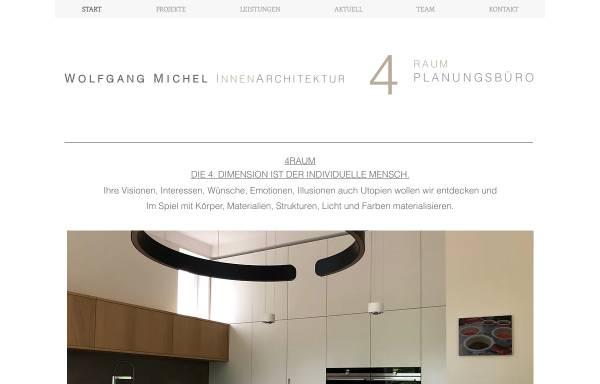 Vorschau von www.4raum.com, Michel, Wolfgang - 4Raum
