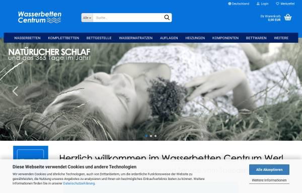 Vorschau von www.wasserbetten-centrum.de, Trend Wasserbetten GmbH