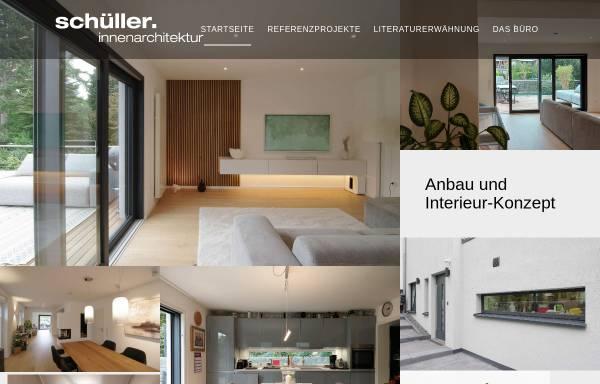 Vorschau von www.schueller-konzept.de, Dipl.-Ing. (FH) Schüller, Bernd