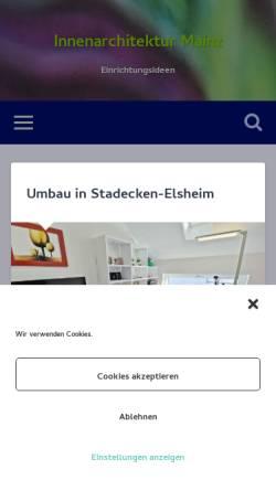 Vorschau der mobilen Webseite einrichtungsideen-online.de, Sillo, Yvette