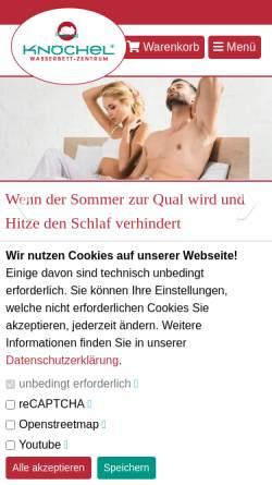 Wasserbett Zentrum Knöchel GmbH: Wasserbetten, Schlafzimmer knoechel.net