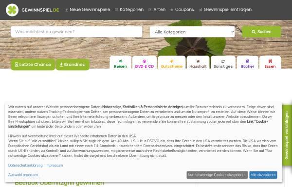 Vorschau von www.gewinnspiel.de, Gewinnspiel.de