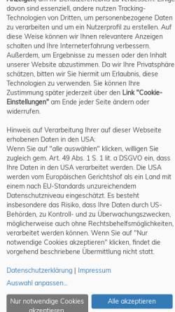 Vorschau der mobilen Webseite www.gewinnspiel.de, Gewinnspiel.de