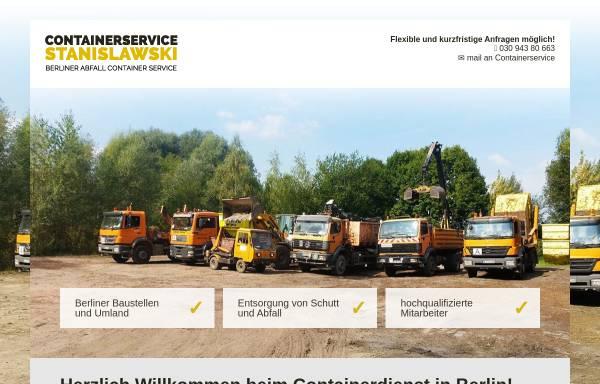 Vorschau von www.container-service.de, Mathias Stanislawski Container-Service