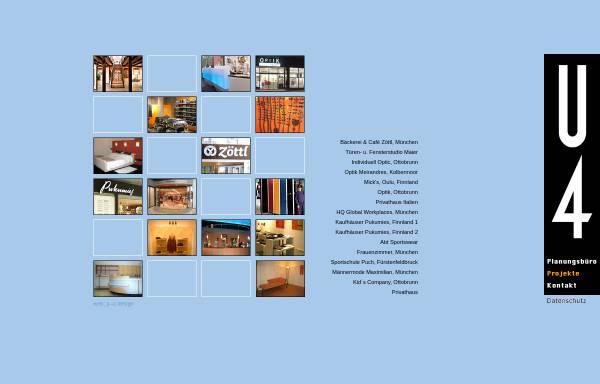 Vorschau von www.u4planungsbuero.de, Vieregg, Ulrich