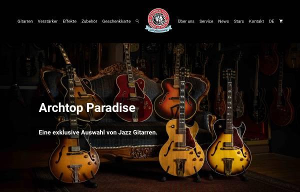 Vorschau von www.gitarrentotal.ch, Gitarren Total