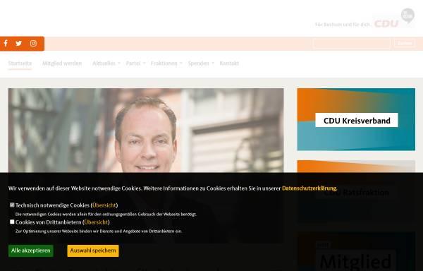 Vorschau von www.cdu-bochum.de, CDU Bochum