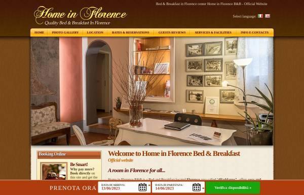 Vorschau von www.homeinflorence.com, Home in Florence