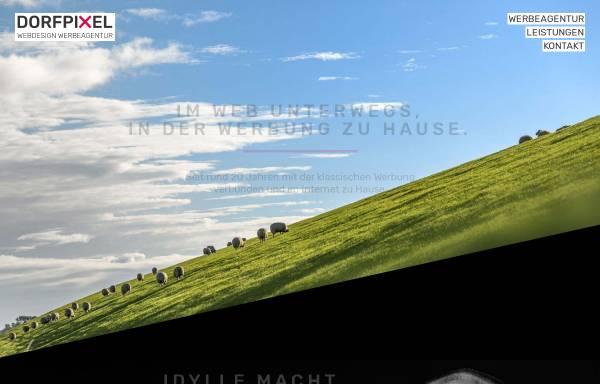 Vorschau von www.dorfpixel.de, Dorfpixel Webdesign Werbeagentur