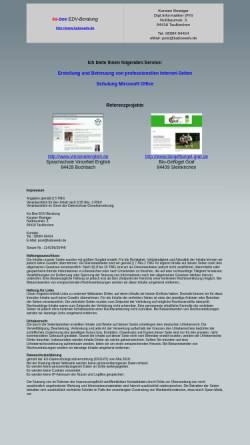 Vorschau der mobilen Webseite www.kaboeedv.de, Karsten Boettger EDV Beratung