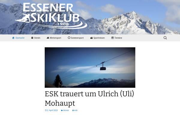 Vorschau von www.essener-skiklub.de, Essener Skiklub e.V. (ESK)