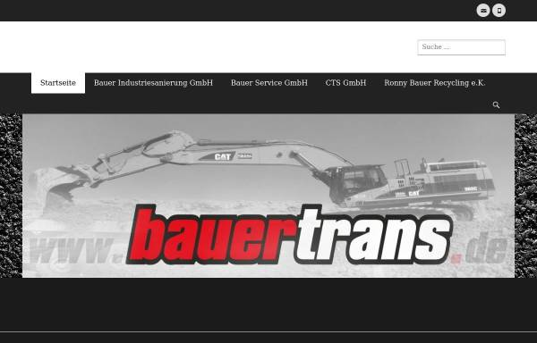 Vorschau von www.bauertrans.de, Bauer Trans