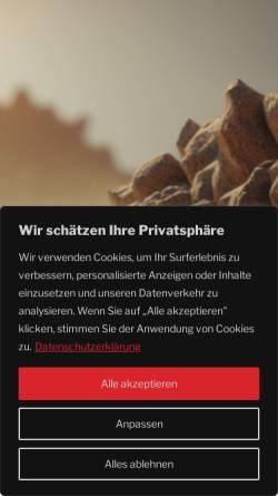Vorschau der mobilen Webseite www.bauertrans.de, Bauer Trans
