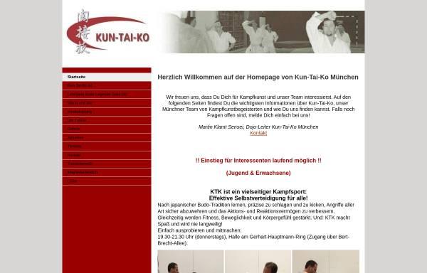 Vorschau von kuntaiko.jimdo.com, Kun-Tai-Ko München