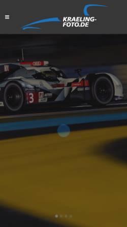 Vorschau der mobilen Webseite www.kraelingbildagentur.de, Ferdi Kräling Motorsport-Bild GmbH