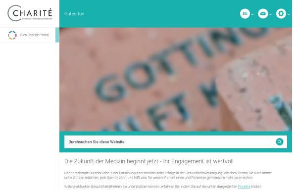 Vorschau von www.charity-for-charite.de, Charity for Charité