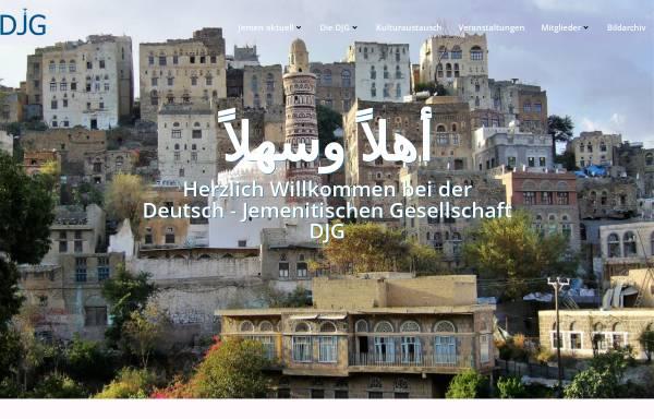 Vorschau von www.djg-ev.de, Deutsch-Jemenitische Gesellschaft e.V.