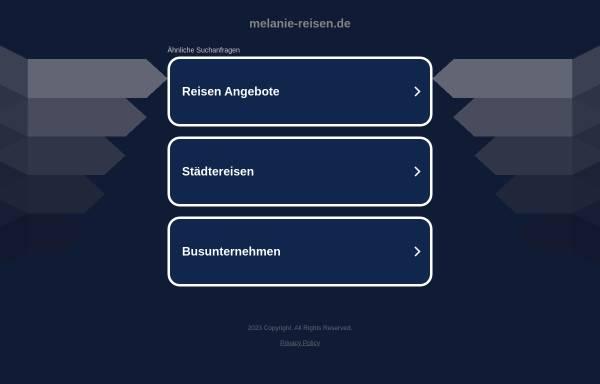 Vorschau von www.melanie-reisen.de, Melanie-Reisen