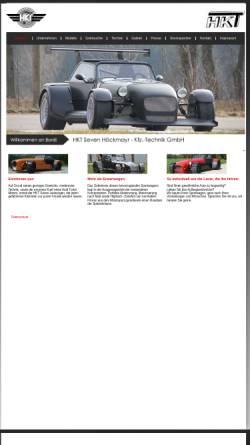 Vorschau der mobilen Webseite www.hkt-7.de, HKT Seven - KFZ Technik GmbH Höckmayr
