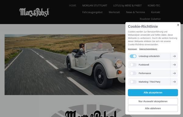 Vorschau von www.merz-pabst.com, Merz & Pabst GmbH