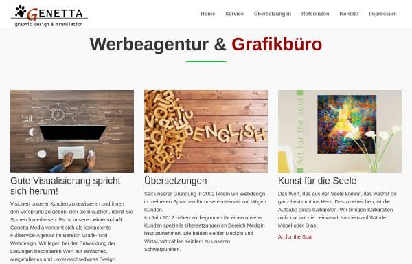 Vorschau von www.genetta.de, Genetta Media