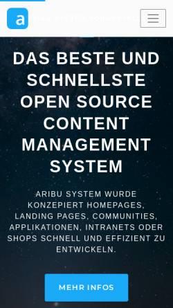 Vorschau der mobilen Webseite www.it-orange.de, It.orange
