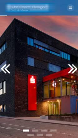Vorschau der mobilen Webseite www.le-design.net, Lutz Ebert Design