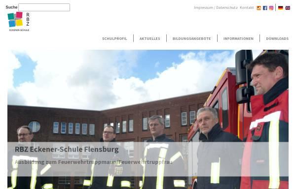 Vorschau von www.eckener-schule.de, GBS - Flensburg
