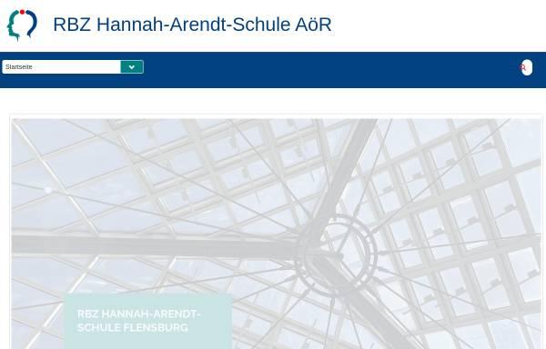 Vorschau von www.has-fl.de, Hannah-Arendt-Schule
