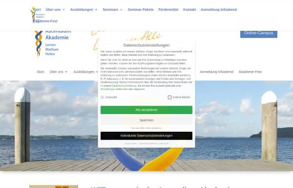 Vorschau von www.ascendium.de, Heilpraktikerschule Kastanienhof - Flensburg