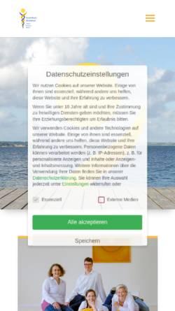 Vorschau der mobilen Webseite www.ascendium.de, Heilpraktikerschule Kastanienhof - Flensburg