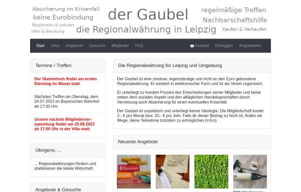 Vorschau von www.batzen.de, Batzen Tauschring