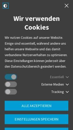 Vorschau der mobilen Webseite www.leipzig.ihk.de, Industrie- und Handelskammer zu Leipzig